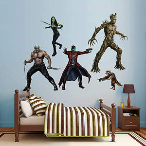 Fathead wall decal of the Guardians of the Galaxy superheroes